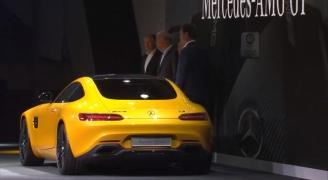 メルセデス・ベンツ AMG GT リア