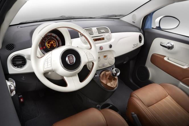Fiat 500 1957 Edition (2013) インテリア