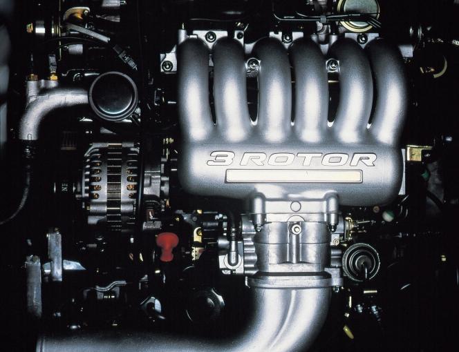 ユーノスコスモ 20B型エンジン