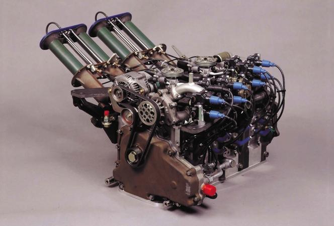 R26B型ロータリーエンジン 787B
