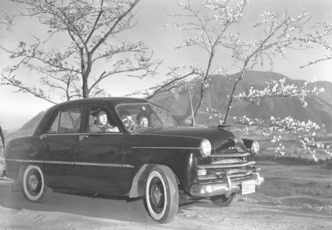 1955年春 神奈川 箱根