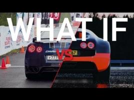 【動画】日産GT-R × ブガッティヴェイロンの加速力勝負!勝つのはどっちだ!?