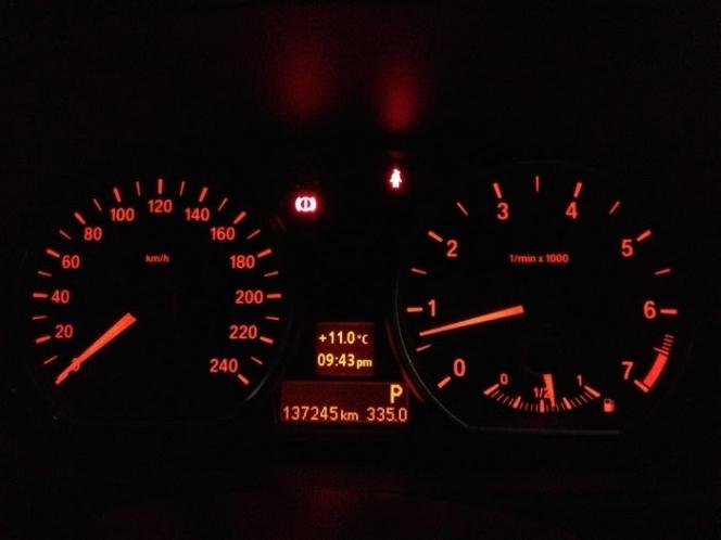 BMW・メーター