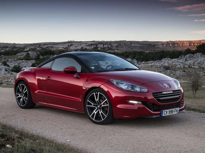 Peugeot RCZ レッド