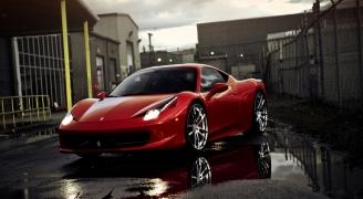 フェラーリ 458 イタリア