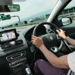 ahead meets ドコモ ドライブネット タブレットに導かれて、新東名高速へ。