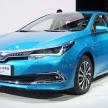 カローラとレビンのPHVモデルが、北京モーターショーで発表