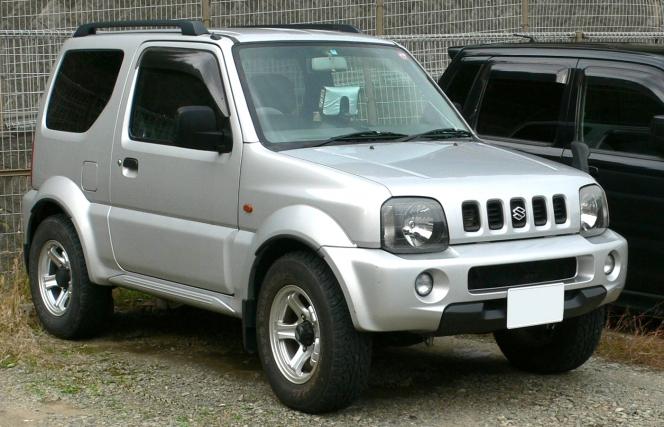 ジムニー1998年モデル