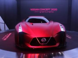 【東京モーターショー速報】次世代GT-Rか!?日産コンセプト「2020ヴィジョン グランツーリスモ」