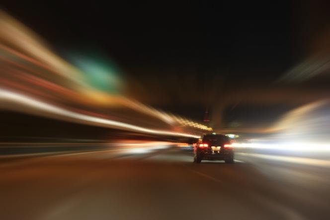 夜間走行 ライト