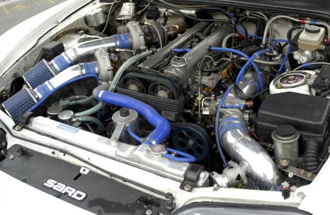 2JZ-GTE tuned engine
