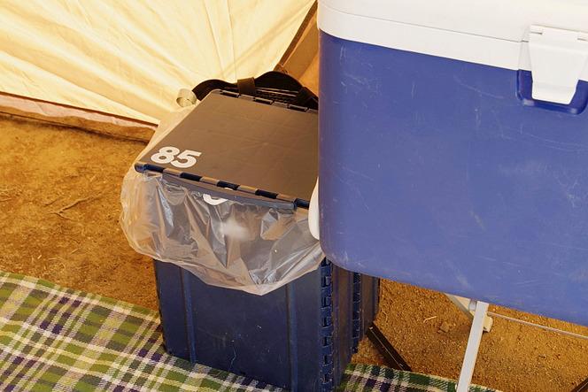 ランタン ゴミ箱