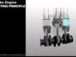 【エンジン解説動画】5ストロークのエンジンってこうなってる!