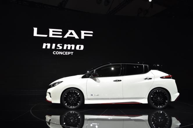 【東京モーターショー2017】日産 リーフ NISMO コンセプト