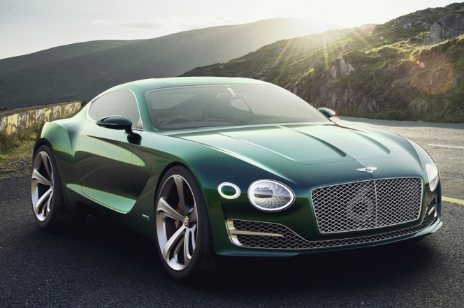 Bentley EXP10 Speed6 Concept