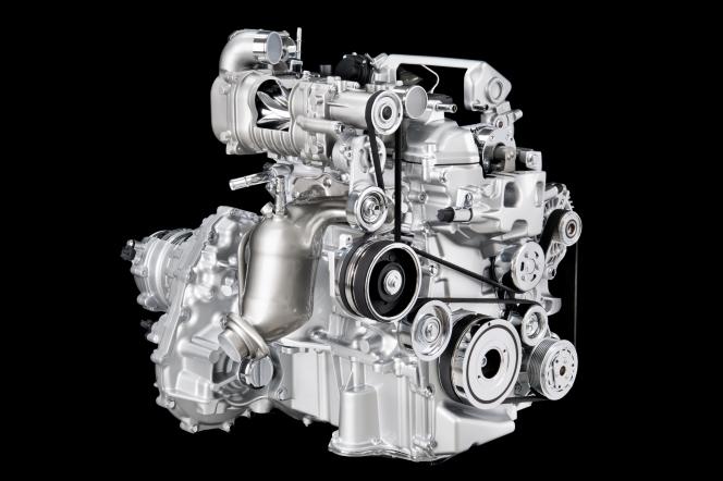 スーパーチャージャー HR12DDRエンジン