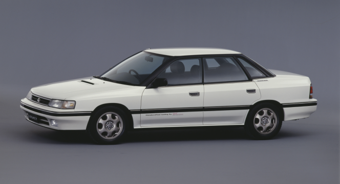 1989 レガシィ セダンRS-RA