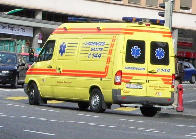 スイスの救急車