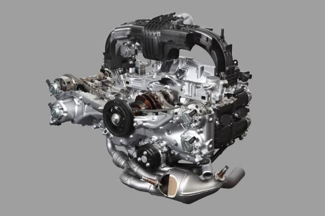 ボクサーエンジン FB20