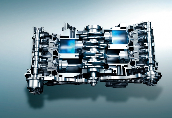 新型インプレッサに搭載されるFB20型水平対向エンジン