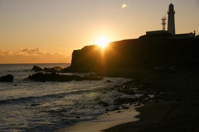 犬吠埼の朝日