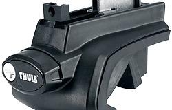 THULE スーリー ベースキャリア TH757 ラピッドルーフレールフットセット TH757