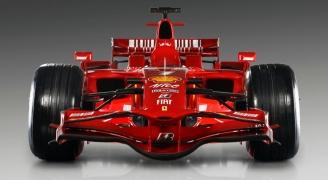 レッド FIAT F1カー