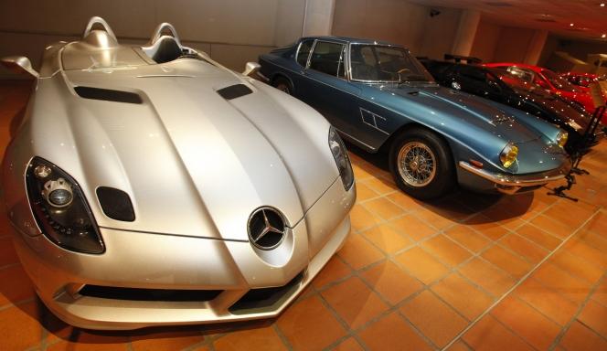 レーニエ3世、クラッシクカーコレクション