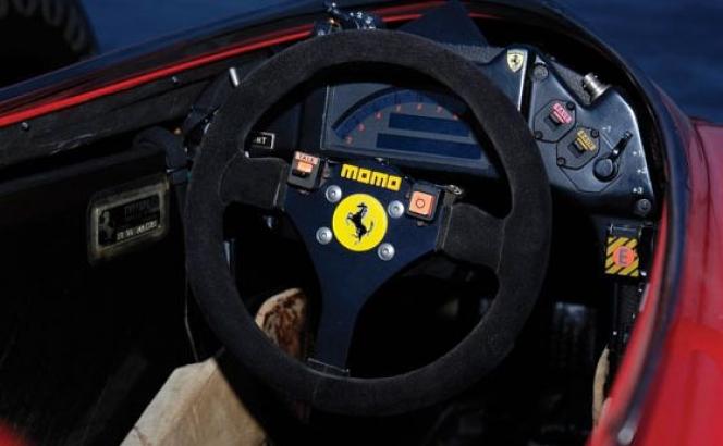 フェラーリF1のステアリングホイール