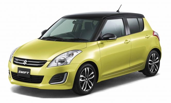 スイフトスタイル特別仕様車黄色