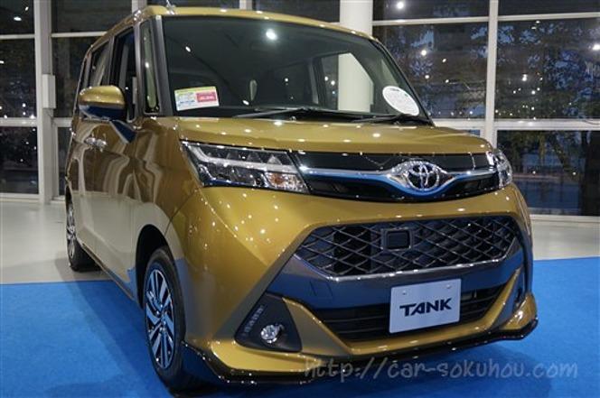 トヨタ タンク/ルーミー 2016