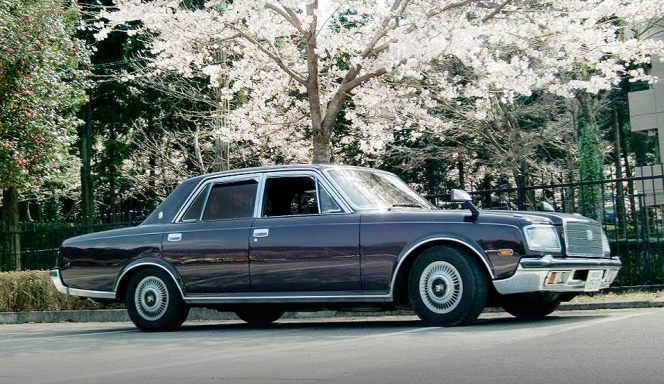 トヨタ センチュリー 桜