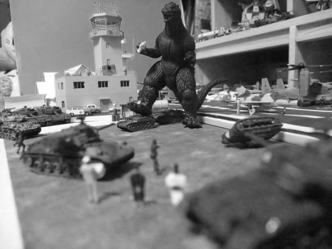 六一式戦車 ミニチュア