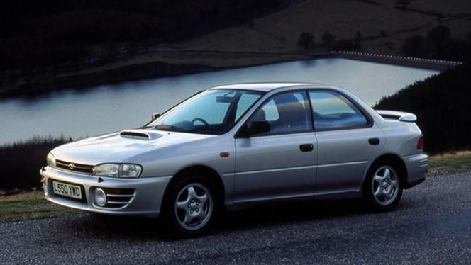 1992 スバル インプレッサ WRX