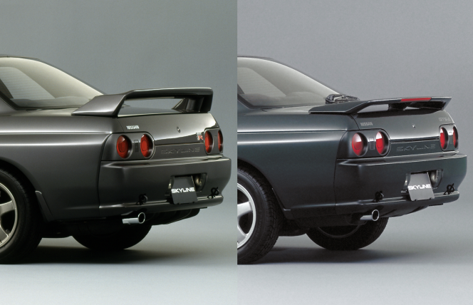 GT-RとGTS-t