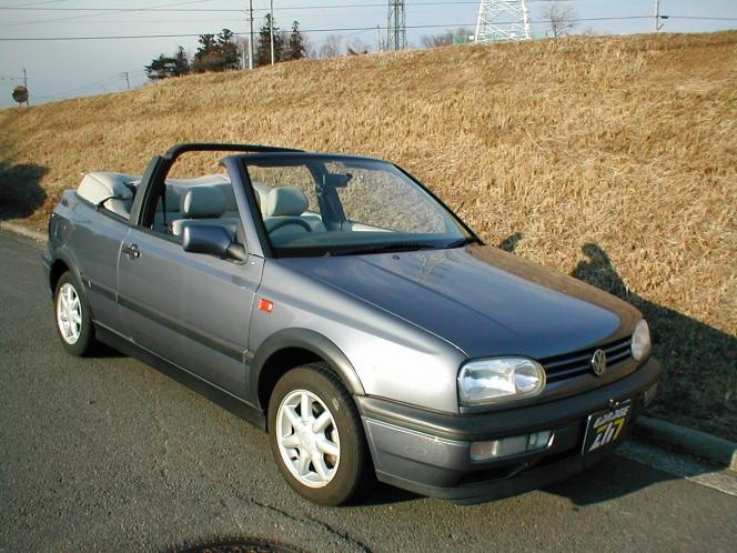 VWゴルフ Cabriolet