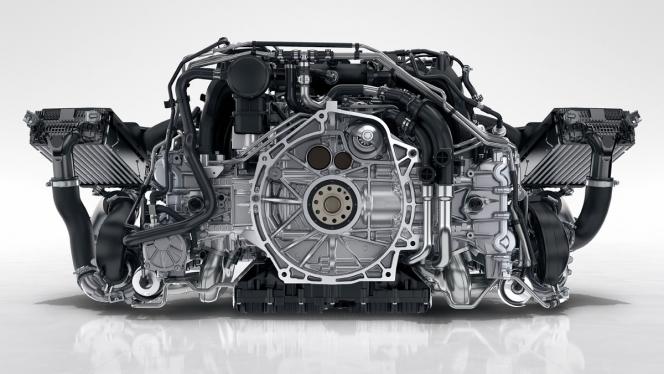 911カレラエンジン