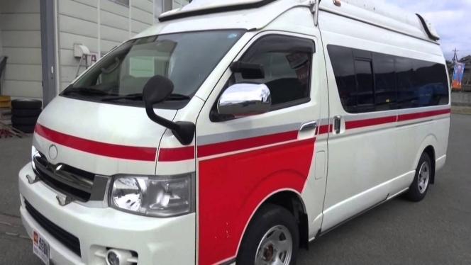中古トラック 平成18年式 救急車 トヨタ ハイエース