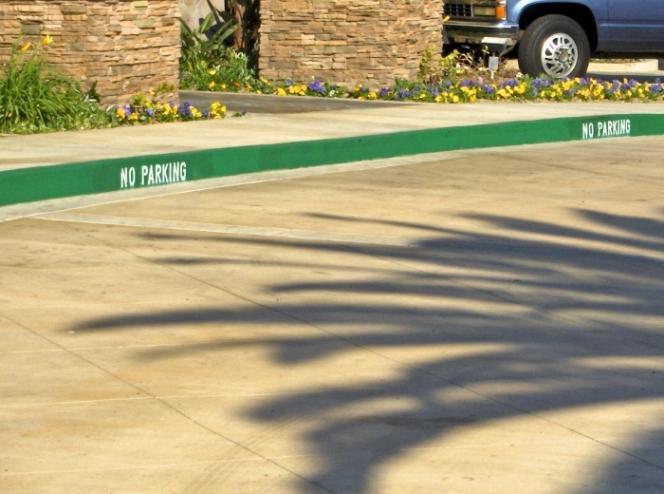 緑 道路 線 カリフォルニア