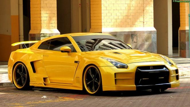 シンガポール GT-R