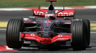ブラック F1カー