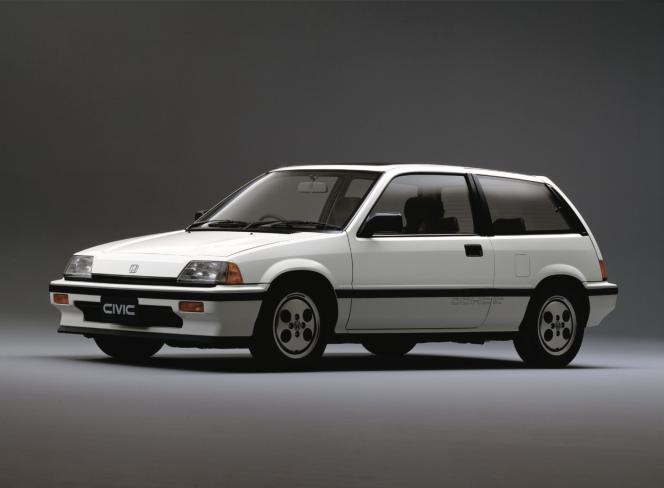 ホンダ シビック Si 1984