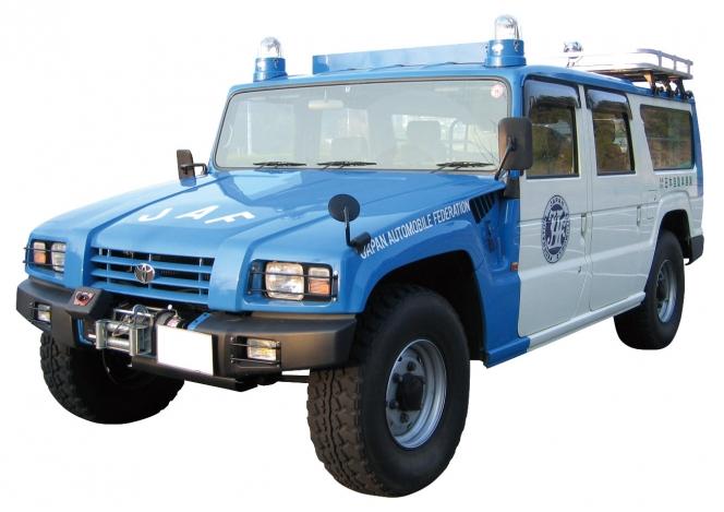 トヨタ メガクルーザー JAF災害対策指揮車