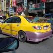 ティアナやカローラ等…台湾のタクシーとして活躍する日本車達!