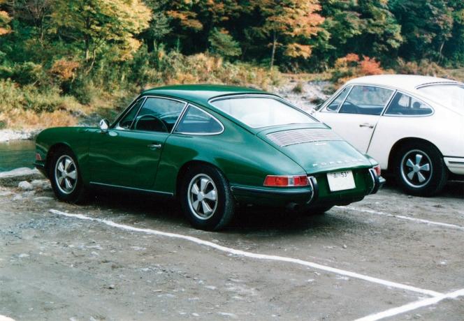 アヘッド ポルシェ 911S リア
