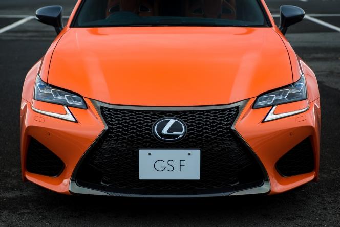 2015 Lexus GS F Orange