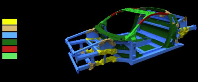 第2世代NSXスペースフレーム