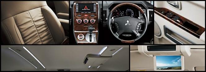 三菱デリカD5 ロイヤルエクシード複数内装