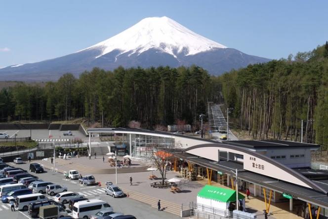 道の駅 富士吉田(リフレふじよしだ内)