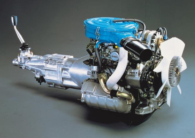 12型ロータリーエンジン